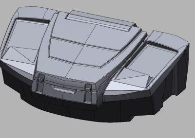 Carrier tank model