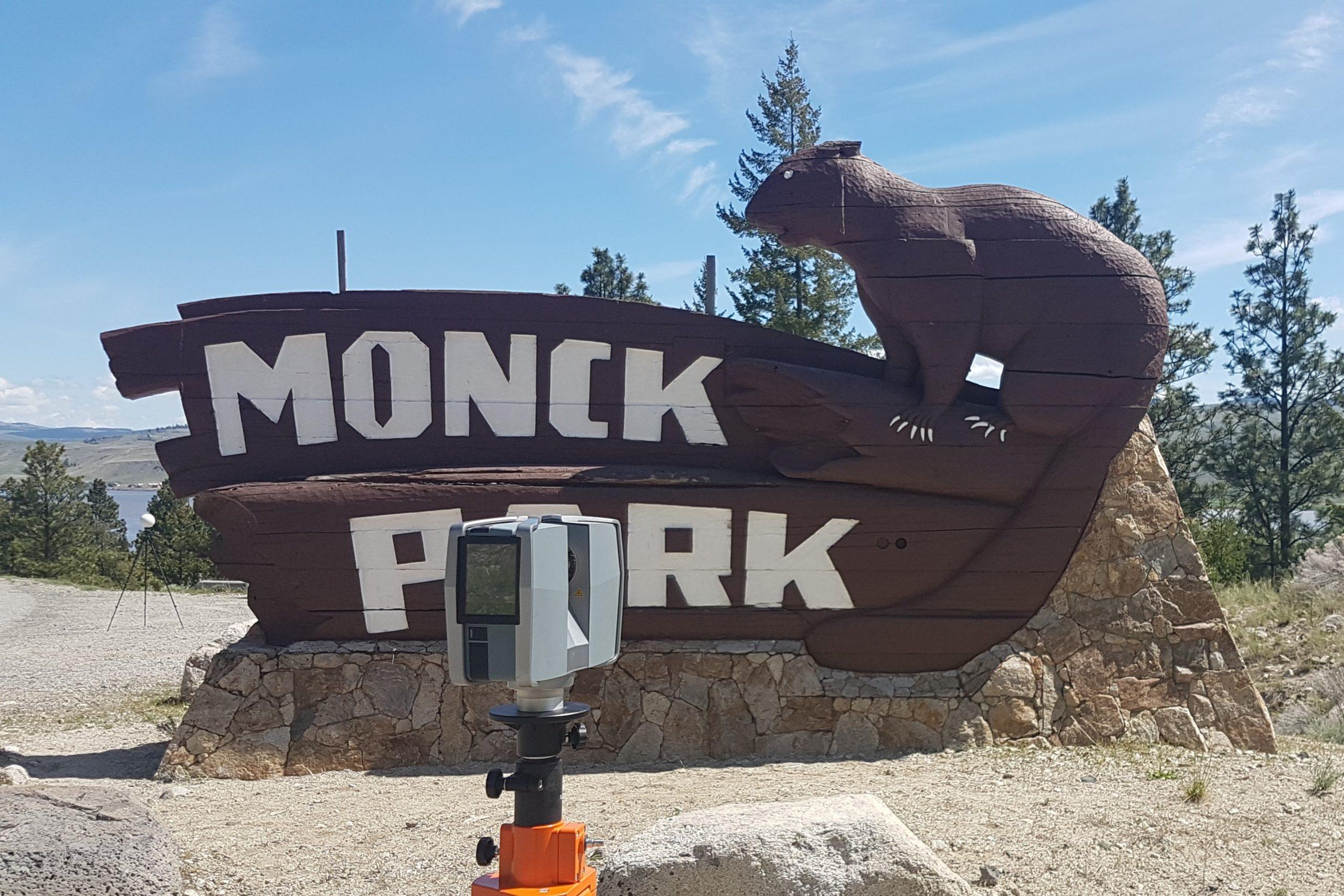 Park Sign original
